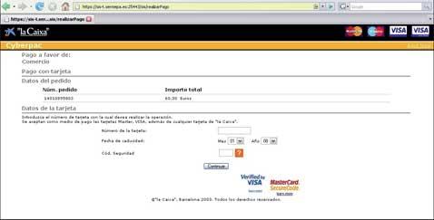 Nota registro pago